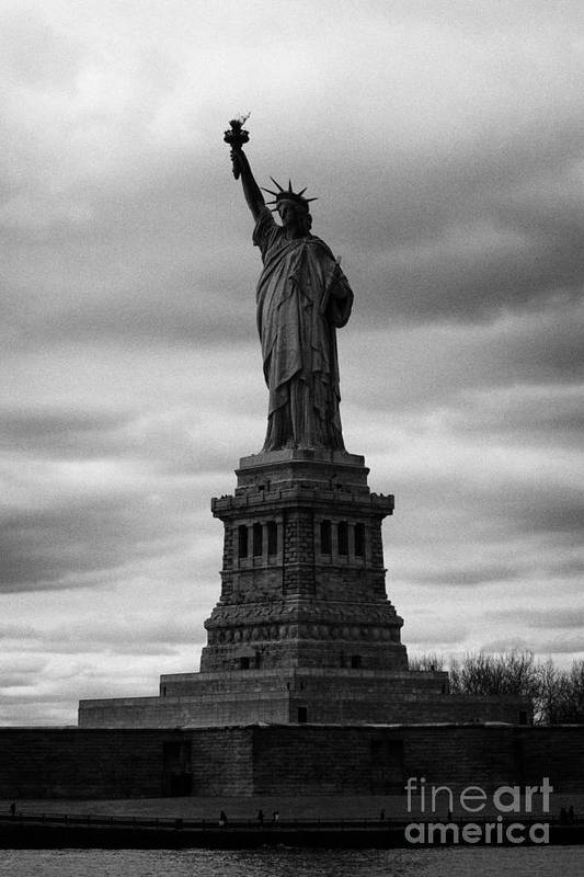 Usa Art Print featuring the photograph Statue Of Liberty New York City by Joe Fox