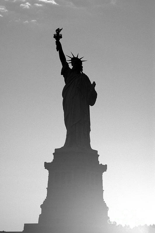 Statue Of Liberty Art Print featuring the photograph Statue Of Liberty by Tony Cordoza