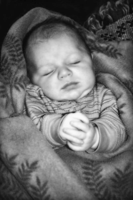 Baby Art Print featuring the photograph Sweet Dreams by Susan Leggett