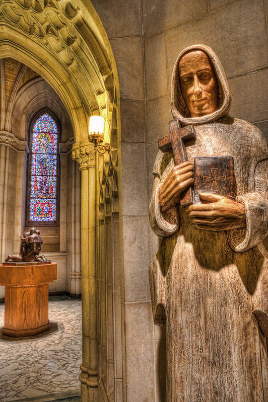 Benedictine Monk Art Print featuring the photograph The Benedictine Order by Lee Dos Santos