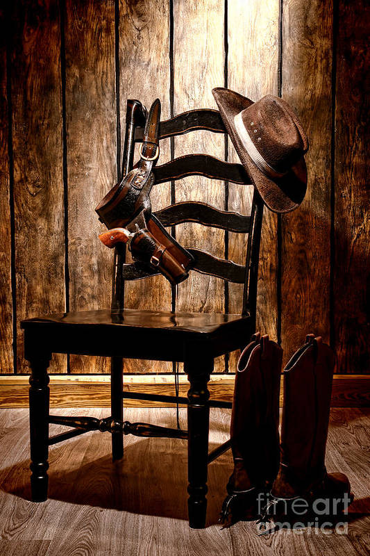 the cowboy chair art print by olivier le queinec cowboy charleston line dance cowboy charters