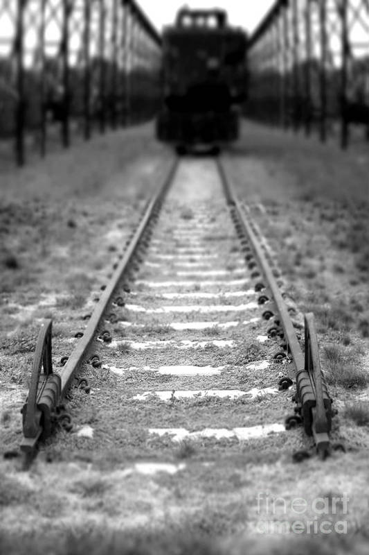 Railroad Art Print featuring the photograph The End Of The Line by Olivier Le Queinec