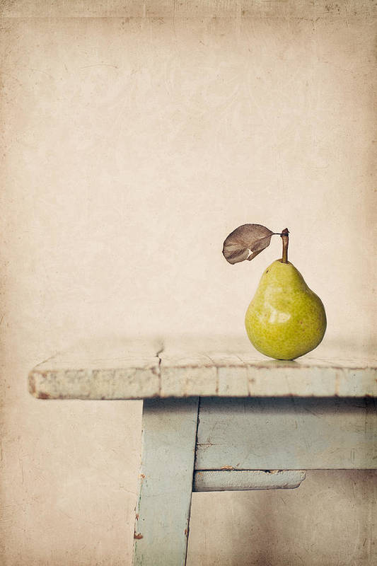 Pear Art Print featuring the photograph The Exhibitionist by Amy Weiss