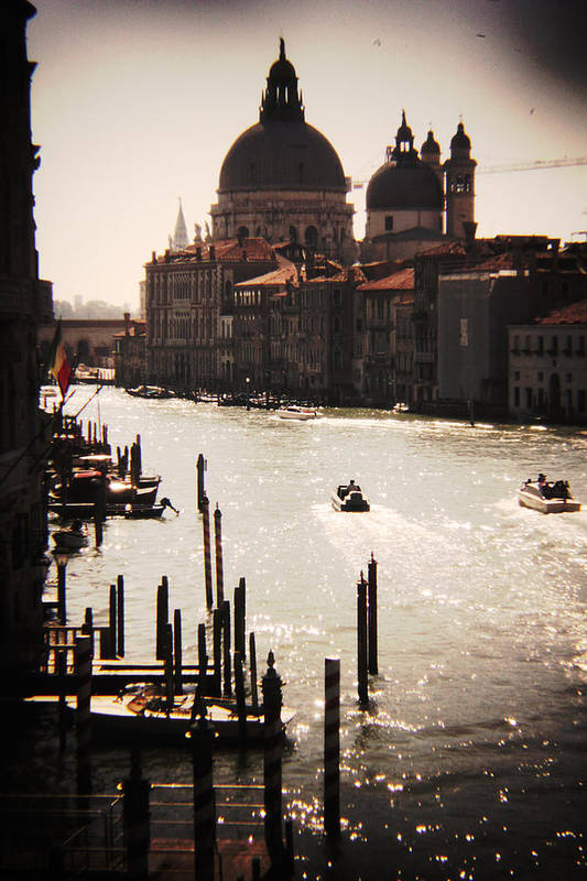 Photography Art Print featuring the photograph The Grand Canal by Jillian Barrile
