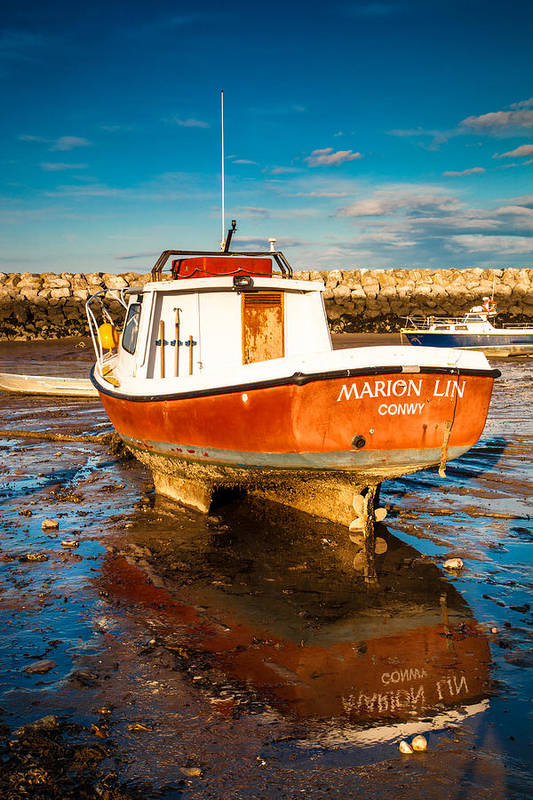 2012 Art Print featuring the photograph The Harbour by Christine Smart