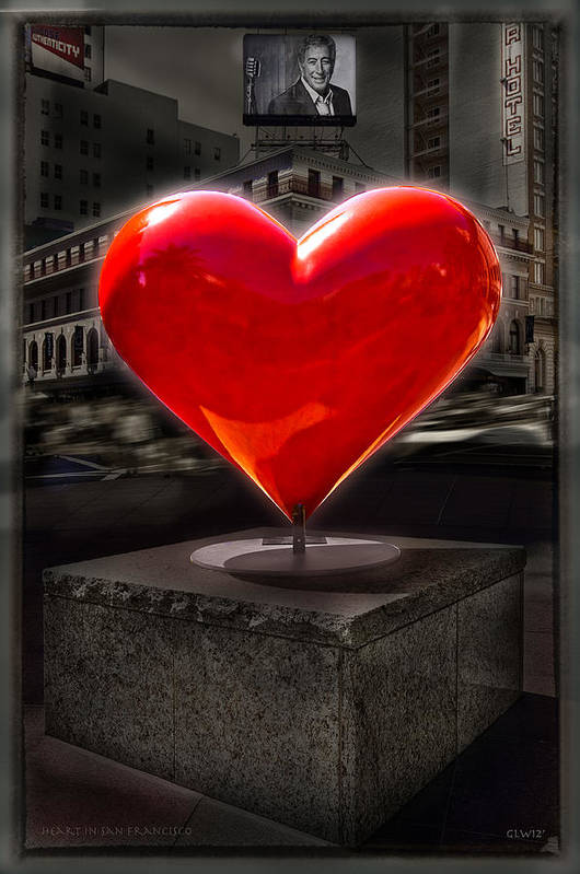 The heart of San Francisco by Gary Warnimont