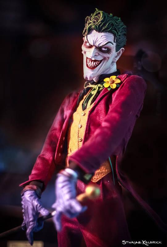 Dummy Art Print featuring the photograph The Joker Dummy by Stwayne Keubrick