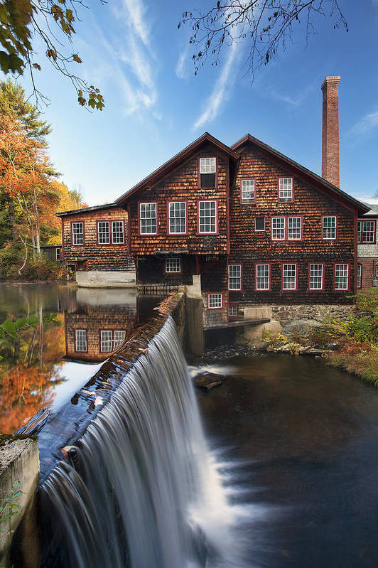 The Mills Art Print featuring the photograph The Mills by Eric Gendron