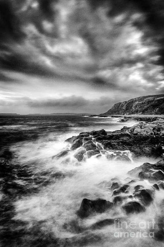 Ayrshire Art Print featuring the photograph The Power Of Nature by John Farnan