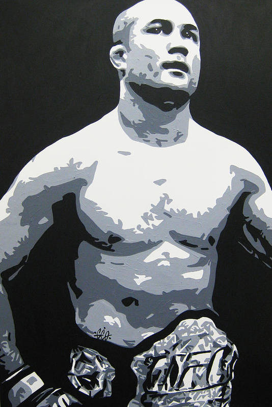 Mma Art Print featuring the painting The Prodigy by Geo Thomson