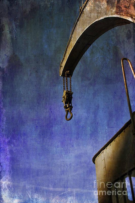 Fairbairn Steam Crane Print featuring the photograph The Steam Crane by Brian Roscorla