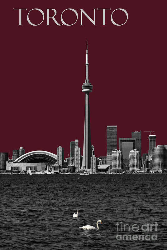 Toronto Art Print featuring the photograph Toronto Poster by Les Palenik