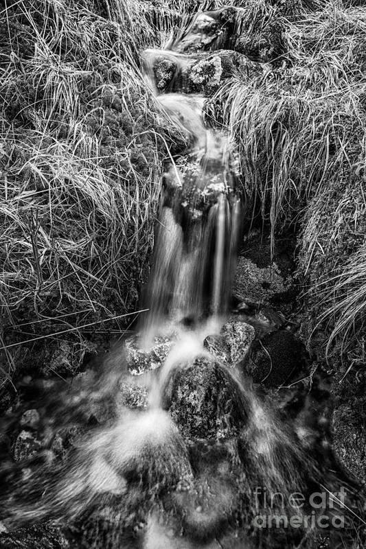 Beautiful Scotland Art Print featuring the photograph Tumbling Water by John Farnan