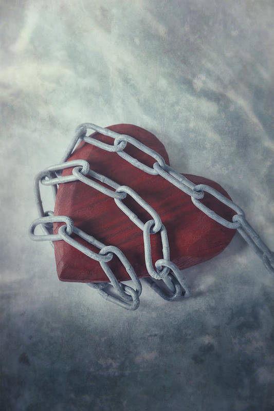 Heart Art Print featuring the photograph Unchain My Heart by Joana Kruse