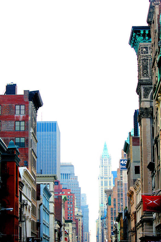 Urban Art Print featuring the photograph Untitled Nyc by Adam Barone