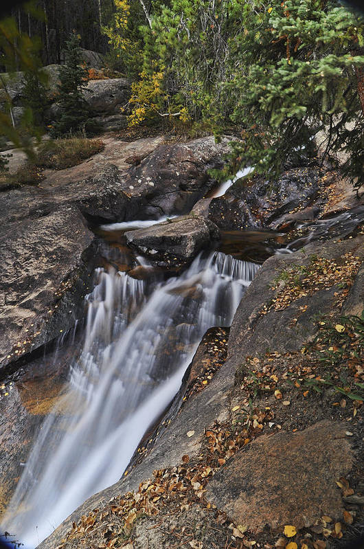 Chasm Falls Art Print featuring the photograph Uppre Chasm Falls by Frank Burhenn