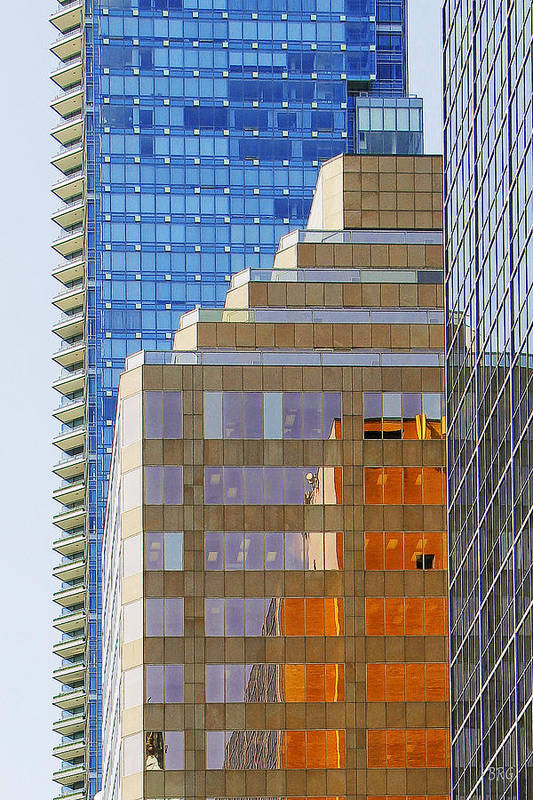 Architecture Art Print featuring the photograph Vancouver Reflections No 1 by Ben and Raisa Gertsberg