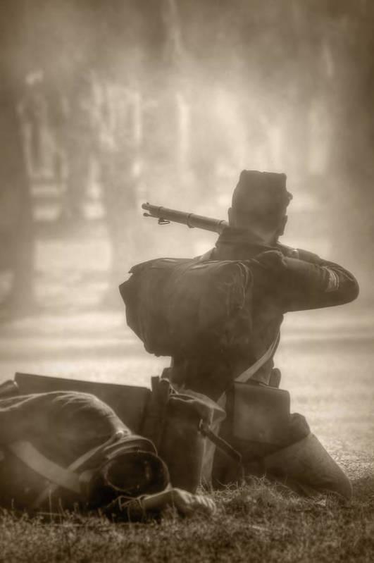 Civil War Art Print featuring the photograph War by Nikolyn McDonald