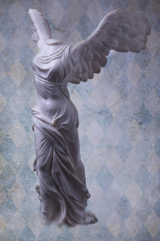 Winged Victory Print featuring the photograph Winged Victory by Garry Gay
