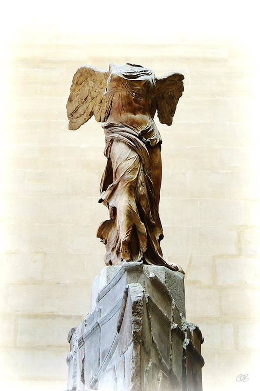 Winged Victory Of Samothrace Art Print featuring the photograph Winged Victory Of Samothrace by Conor OBrien