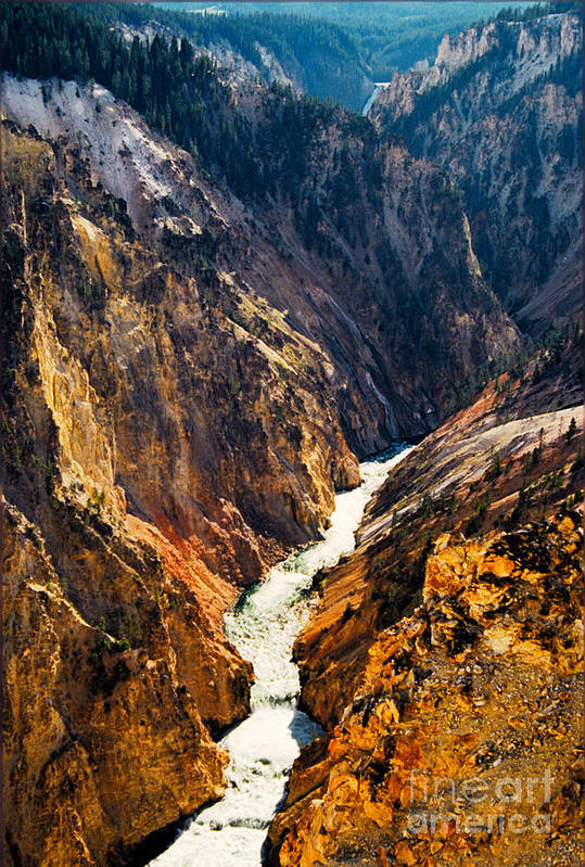 Yellowstone Art Print featuring the photograph Yellowstone River by Kathy McClure