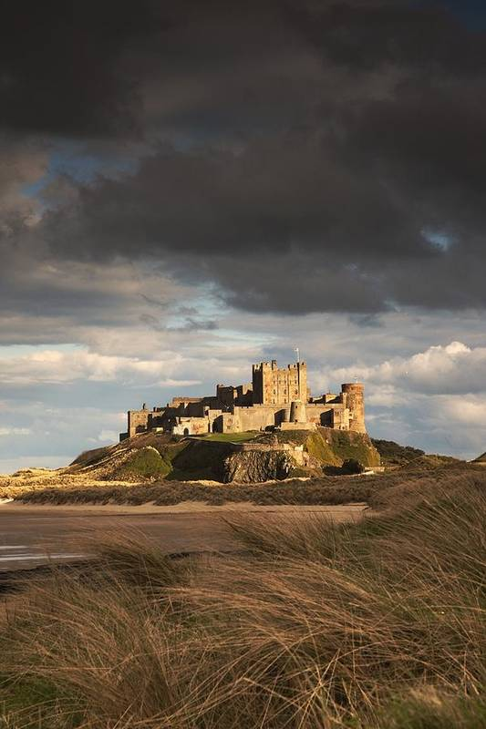 Northumberland Art Print featuring the photograph Bamburgh, Northumberland, England by John Short