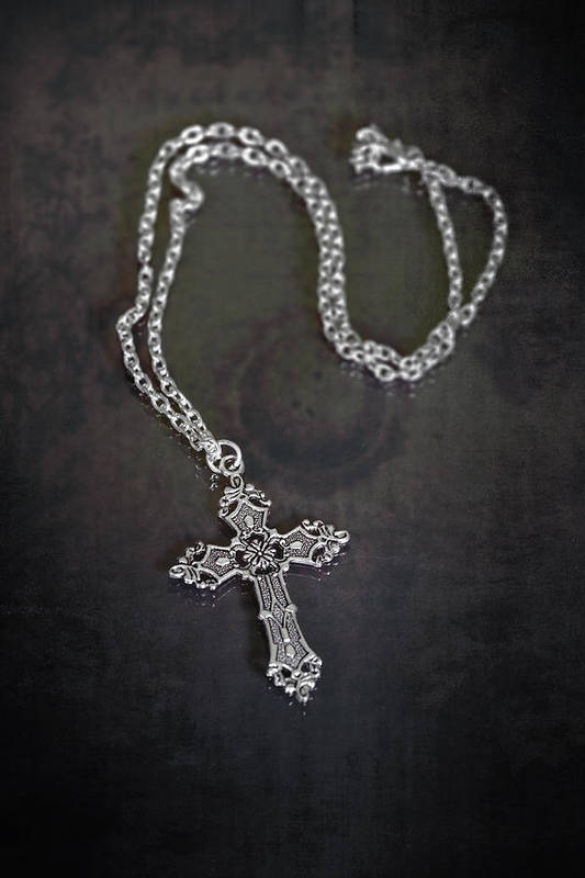 Necklace Art Print featuring the photograph Celtic Cross by Joana Kruse