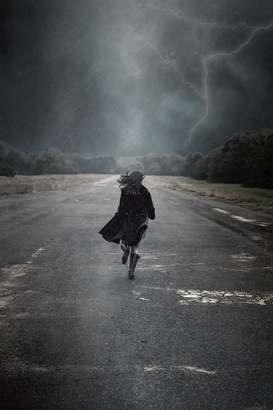 Female Art Print featuring the photograph Escape by Joana Kruse