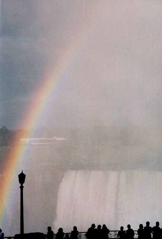 Waterfall Art Print featuring the photograph Rainbow Falls by Pharris Art