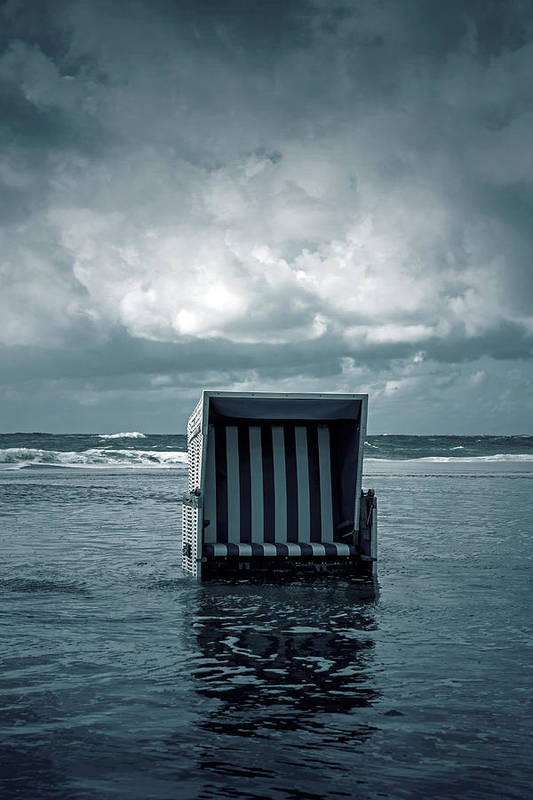 Beach Art Print featuring the photograph Flood by Joana Kruse