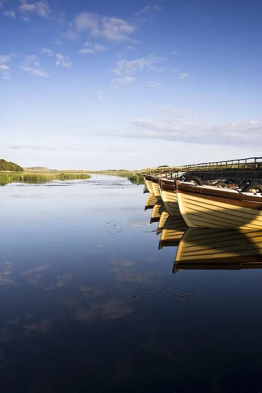 Boat Art Print featuring the photograph Dunfanaghy, County Donegal, Ireland by Peter McCabe