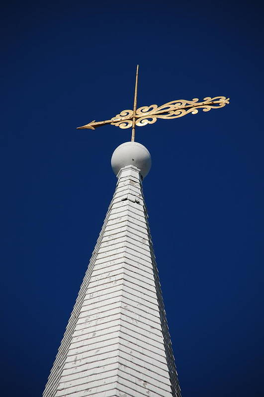 Dickon Art Print featuring the photograph A Spire In New England II by Dickon Thompson