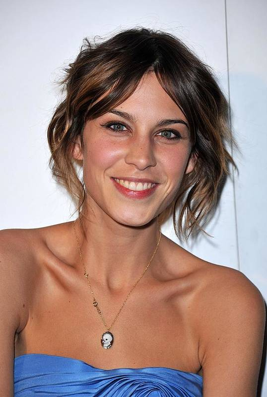 Alexa Chung Art Print featuring the photograph Alexa Chung At Arrivals For The Whitney by Everett