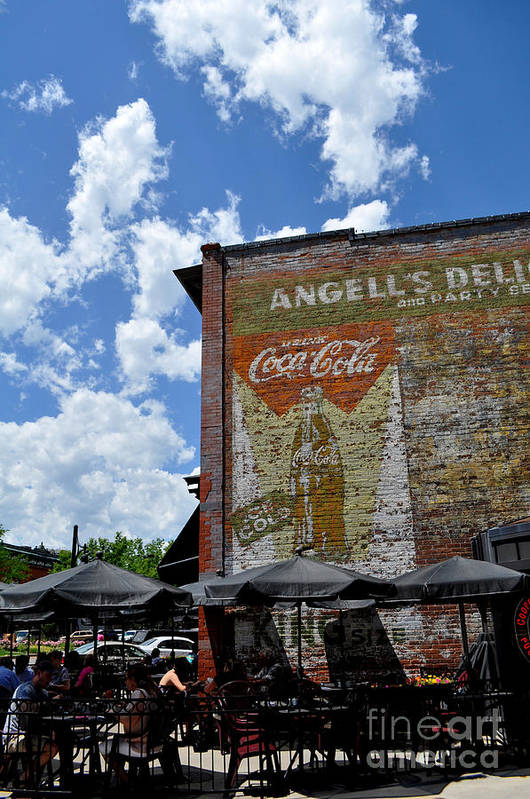 Fort Collins Print featuring the photograph Angell's Deli by Anjanette Douglas