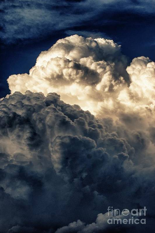 Clouds Art Print featuring the photograph Angels And Demons by Syed Aqueel
