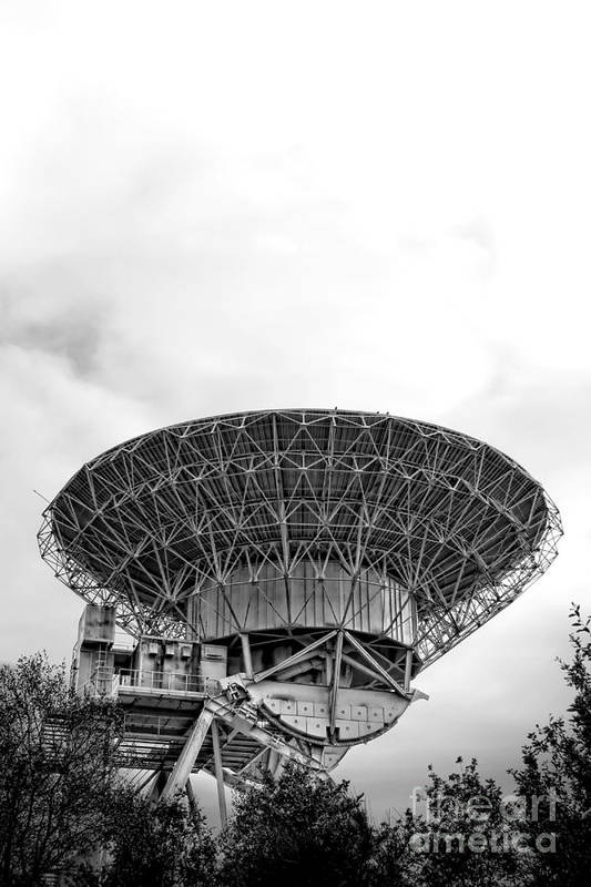 Radio Art Print featuring the photograph Antenna  by Olivier Le Queinec