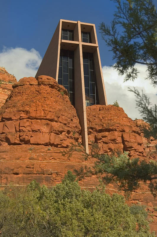 Chapel Art Print featuring the photograph Arizona Outback 4 by Mike McGlothlen