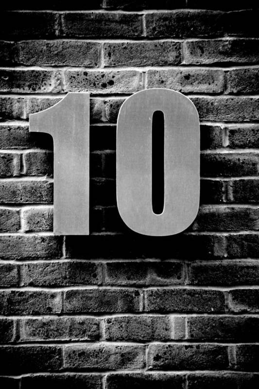 Jezcself Art Print featuring the photograph At Number 10 by Jez C Self
