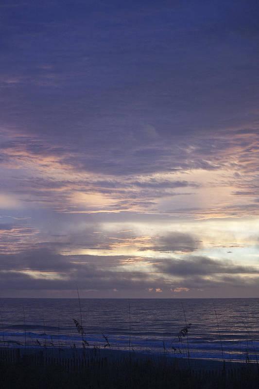 Sunrise Art Print featuring the photograph Atlantic Ocean Sunrise 2 by Teresa Mucha