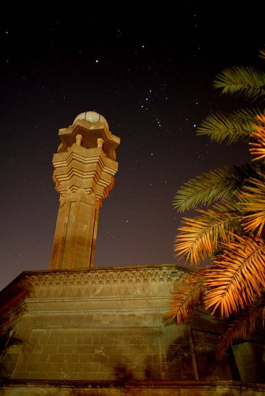 Baghdad Art Print featuring the photograph Baghdad Night Sky by Rick Frost