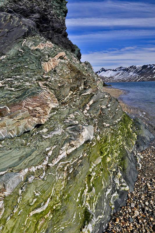 Vertical Art Print featuring the photograph Beautiful Landscape Around Alkehornet Norway by Darrell Gulin
