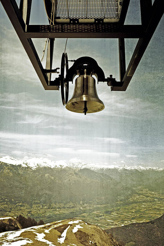 Bell Art Print featuring the photograph Bell In Heaven by Joana Kruse
