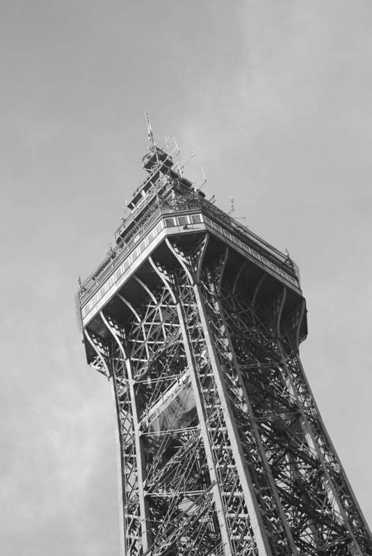 Art Print featuring the photograph Blackpool Tower by Doug Selig
