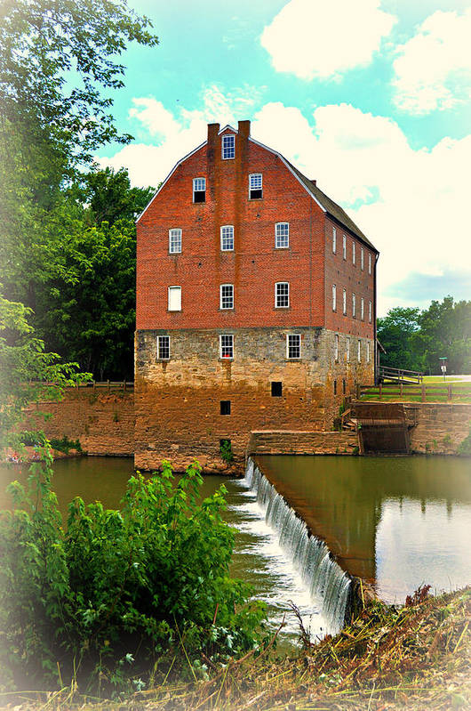Mill Art Print featuring the photograph Bollinger Mill by Marty Koch