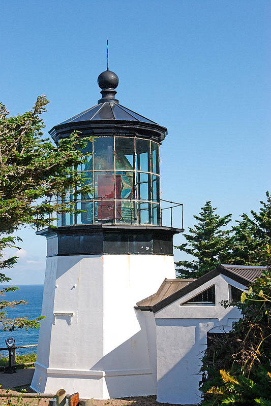 Cape Mears Art Print featuring the photograph Cape Mears Or Lighthouse 2 by Tony and Kristi Middleton