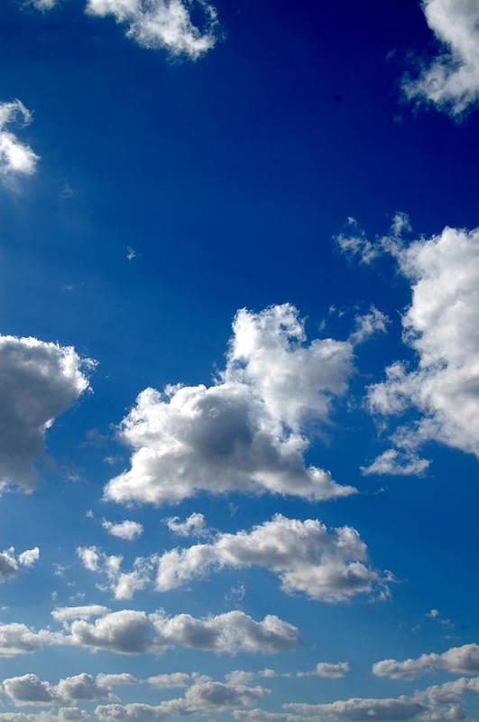 Cloud Art Print featuring the photograph Clouds by Ama Arnesen