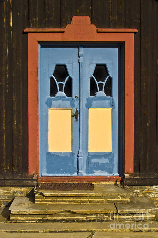 Europe Art Print featuring the photograph Colorful Entrance by Heiko Koehrer-Wagner