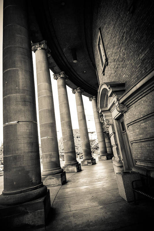 University Of Toronto Art Print featuring the photograph Convocation Hall 2 by Anthony Rego