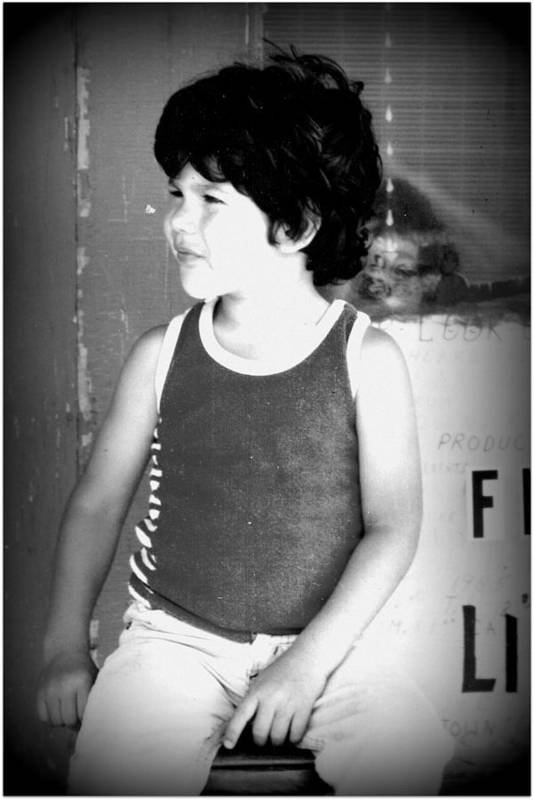 Boy Art Print featuring the photograph Danny Laredo Texas by Douglas Grohne