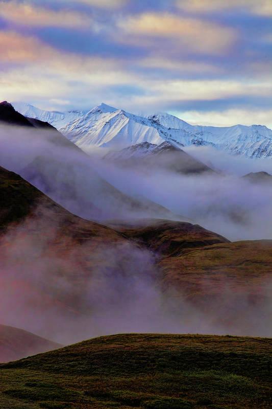 Denali National Park Art Print featuring the photograph Denali Dawn II by Rick Berk